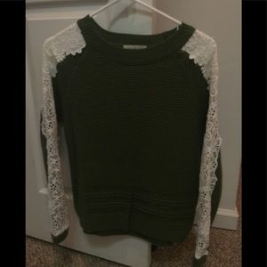 Green sweater boutique
